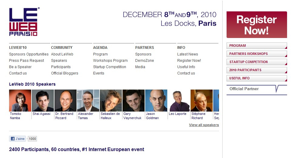 #networking : les 7 choses que j'ai appris à #leweb