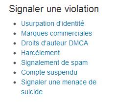 violation cgu