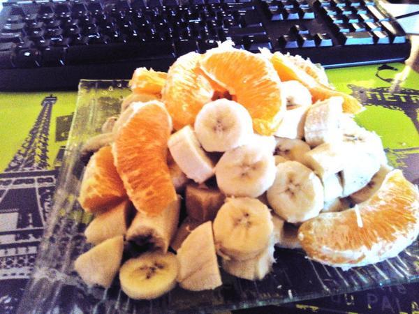 Bananes et oranges