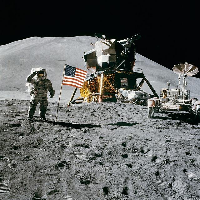 L'homme sur la Lune