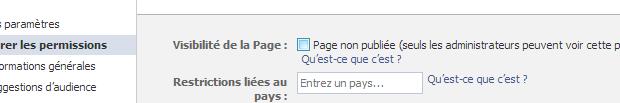 Comment faire disparaître une page Facebook ?