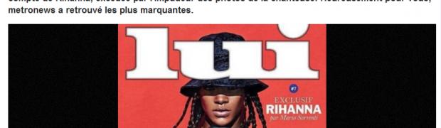 Instagram et les seins de Rihanna