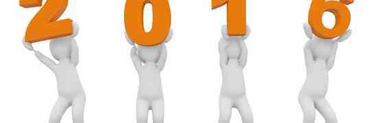 On va faire de 2016 une bonne année !